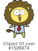Lion Clipart #1526974 by lineartestpilot
