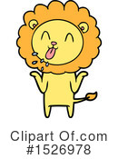Lion Clipart #1526978 by lineartestpilot