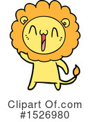 Lion Clipart #1526980 by lineartestpilot