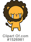Lion Clipart #1526981 by lineartestpilot