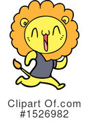 Lion Clipart #1526982 by lineartestpilot