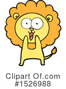 Lion Clipart #1526988 by lineartestpilot