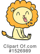 Lion Clipart #1526989 by lineartestpilot