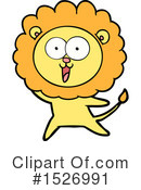 Lion Clipart #1526991 by lineartestpilot