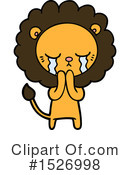 Lion Clipart #1526998 by lineartestpilot