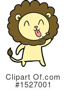 Lion Clipart #1527001 by lineartestpilot