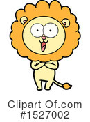 Lion Clipart #1527002 by lineartestpilot