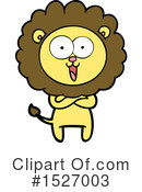 Lion Clipart #1527003 by lineartestpilot