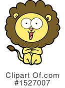 Lion Clipart #1527007 by lineartestpilot