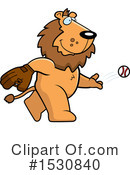 Lion Clipart #1530840 by Cory Thoman