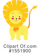 Lion Clipart #1551900 by Cherie Reve
