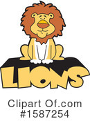Lion Clipart #1587254 by Johnny Sajem