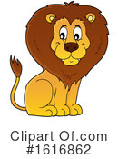 Lion Clipart #1616862 by visekart