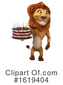 Lion Clipart #1619404 by Julos