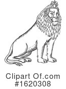 Lion Clipart #1620308 by patrimonio