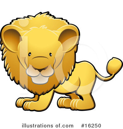 Lion Clipart #16250 by AtStockIllustration