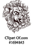 Lion Clipart #1694845 by AtStockIllustration