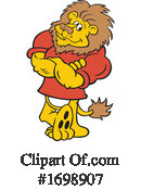 Lion Clipart #1698907 by Johnny Sajem