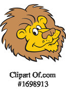Lion Clipart #1698913 by Johnny Sajem