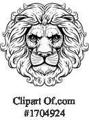 Lion Clipart #1704924 by AtStockIllustration