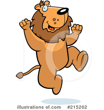 Lion Clipart #215202 by Cory Thoman
