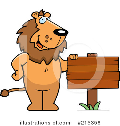 Lion Clipart #215356 by Cory Thoman