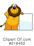 Lion Clipart #218452 by Cory Thoman