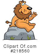 Lion Clipart #218560 by Cory Thoman