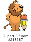 Lion Clipart #218687 by Cory Thoman