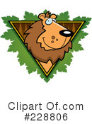 Lion Clipart #228806 by Cory Thoman
