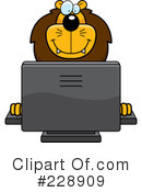 Lion Clipart #228909 by Cory Thoman
