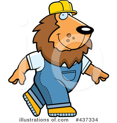Lion Clipart #437334 by Cory Thoman