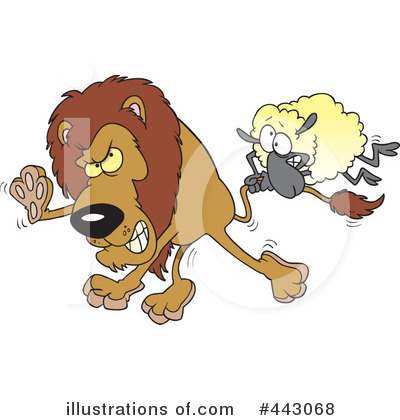 Lion Clipart #443068 by toonaday