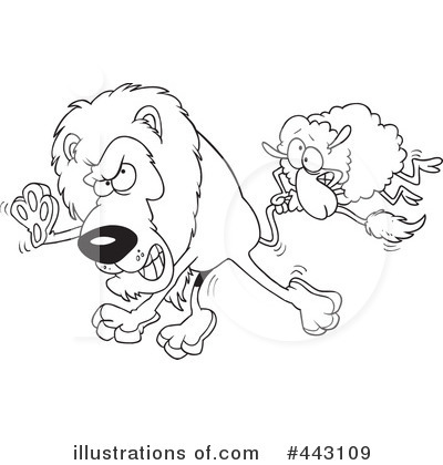 Lion Clipart #443109 by toonaday