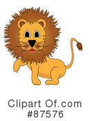 Lion Clipart #87576 by Pams Clipart