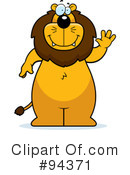 Lion Clipart #94371 by Cory Thoman