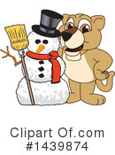 Lion Cub Mascot Clipart #1439874 by Toons4Biz