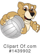 Royalty-Free (RF) Lion Cub Mascot Clipart Illustration #1439902