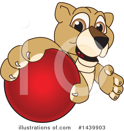 Lion Cub Mascot Clipart #1439903 by Toons4Biz