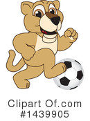 Royalty-Free (RF) Lion Cub Mascot Clipart Illustration #1439905
