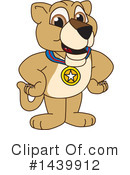 Royalty-Free (RF) Lion Cub Mascot Clipart Illustration #1439912