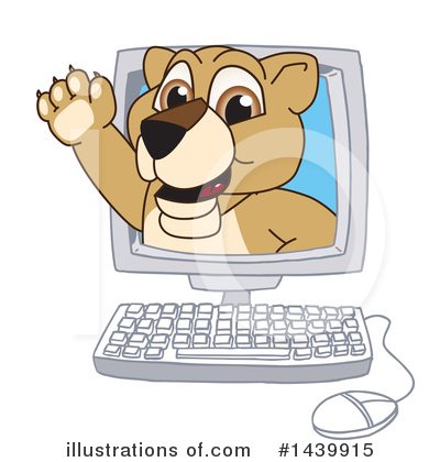Lion School Mascot Clipart #1439915 by Toons4Biz