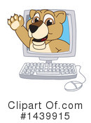 Royalty-Free (RF) Lion Cub Mascot Clipart Illustration #1439915