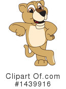 Royalty-Free (RF) Lion Cub Mascot Clipart Illustration #1439916