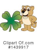 Royalty-Free (RF) Lion Cub Mascot Clipart Illustration #1439917