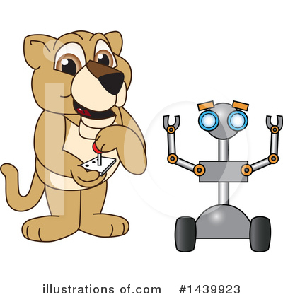 Lion Cub Mascot Clipart #1439923 by Toons4Biz