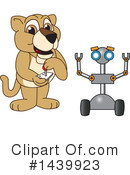 Royalty-Free (RF) Lion Cub Mascot Clipart Illustration #1439923