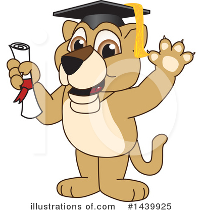 Lion School Mascot Clipart #1439925 by Toons4Biz