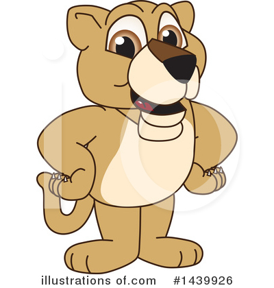 Lion School Mascot Clipart #1439926 by Toons4Biz