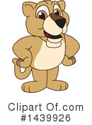 Lion Cub Mascot Clipart #1439926 by Toons4Biz